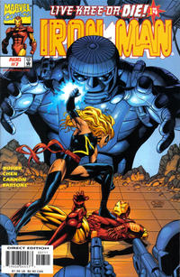Cover Thumbnail for Iron Man (Marvel, 1998 series) #7 [Direct Edition]