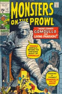 Cover Thumbnail for Monsters on the Prowl (Marvel, 1971 series) #12