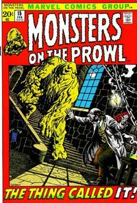 Cover Thumbnail for Monsters on the Prowl (Marvel, 1971 series) #15