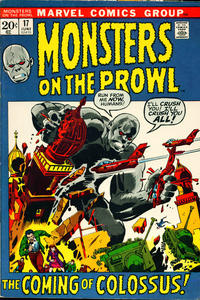 Cover Thumbnail for Monsters on the Prowl (Marvel, 1971 series) #17