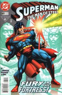 Cover Thumbnail for Superman: The Man of Steel (DC, 1991 series) #61