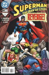 Cover Thumbnail for Superman: The Man of Steel (DC, 1991 series) #65