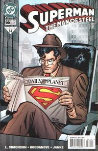 Cover Thumbnail for Superman: The Man of Steel (DC, 1991 series) #66 [Direct Sales]