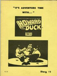 Cover Thumbnail for It's Adventure Time With....Howard the Duck (John Zawadzki, 1978 series) #1