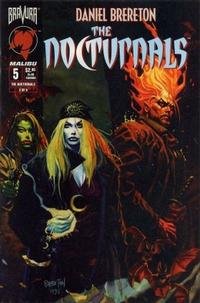Cover Thumbnail for The Nocturnals (Malibu, 1995 series) #5
