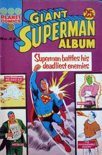 Cover Thumbnail for Giant Superman Album (K. G. Murray, 1963 ? series) #22