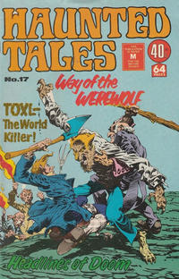 Cover Thumbnail for Haunted Tales (K. G. Murray, 1973 series) #17