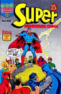 Cover Thumbnail for Super Adventure Comic (K. G. Murray, 1960 series) #63