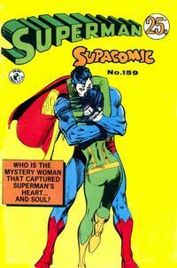 Cover Thumbnail for Superman Supacomic (K. G. Murray, 1959 series) #159