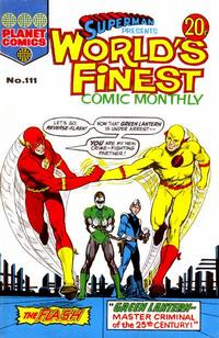 Cover Thumbnail for Superman Presents World's Finest Comic Monthly (K. G. Murray, 1965 series) #111