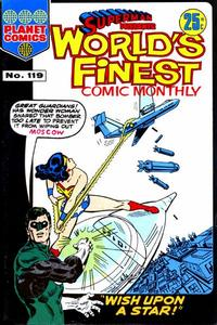 Cover for Superman Presents World's Finest Comic Monthly (K. G. Murray, 1965 series) #119