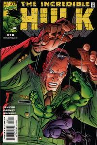 Cover Thumbnail for Incredible Hulk (Marvel, 2000 series) #18