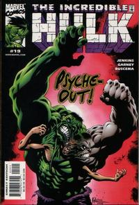 Cover Thumbnail for Incredible Hulk (Marvel, 2000 series) #19