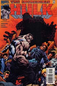 Cover Thumbnail for Incredible Hulk (Marvel, 2000 series) #22