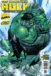 Cover Thumbnail for Incredible Hulk (Marvel, 2000 series) #25 [Direct Edition]