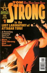 Cover Thumbnail for Tom Strong (DC, 1999 series) #1 [Alex Ross Cover]