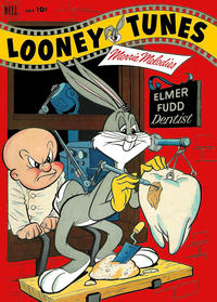 Cover Thumbnail for Looney Tunes and Merrie Melodies (Dell, 1950 series) #129