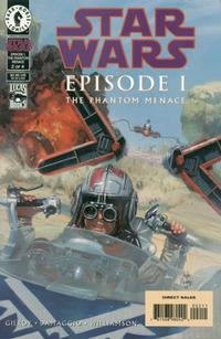 Cover Thumbnail for Star Wars: Episode I The Phantom Menace (Dark Horse, 1999 series) #2