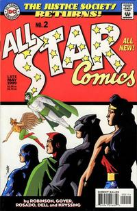 Cover Thumbnail for All Star Comics (DC, 1999 series) #2