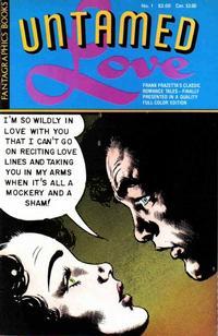 Cover Thumbnail for Frank Frazetta's Untamed Love (Fantagraphics, 1987 series) #1
