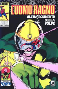 Cover for L' Uomo Ragno (Edizioni Star Comics, 1987 series) #69