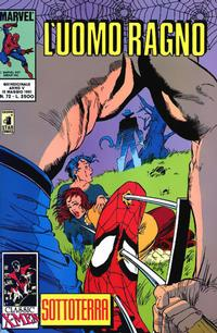 Cover Thumbnail for L'Uomo Ragno (Edizioni Star Comics, 1987 series) #72
