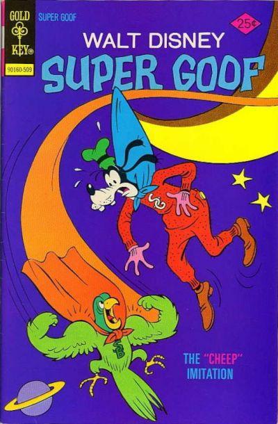 Cover for Walt Disney Super Goof (Western, 1965 series) #35