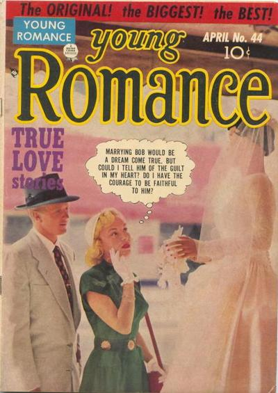 Cover for Young Romance (Prize, 1947 series) #v5#8 (44)