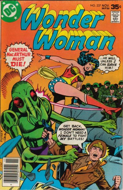 Cover for Wonder Woman (DC, 1942 series) #237