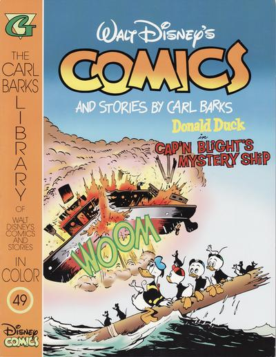 Cover for The Carl Barks Library of Walt Disney's Comics and Stories in Color (Gladstone, 1992 series) #49