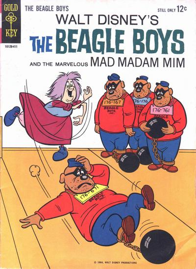Cover for Walt Disney The Beagle Boys (Western, 1964 series) #1