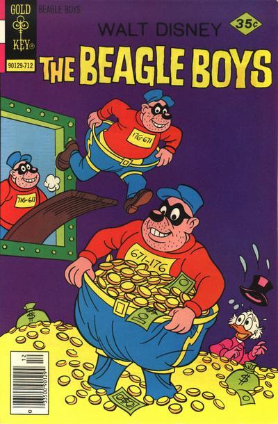 Cover for Walt Disney The Beagle Boys (Western, 1964 series) #39 [Gold Key]