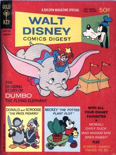 Cover for Walt Disney Comics Digest (Western, 1968 series) #8