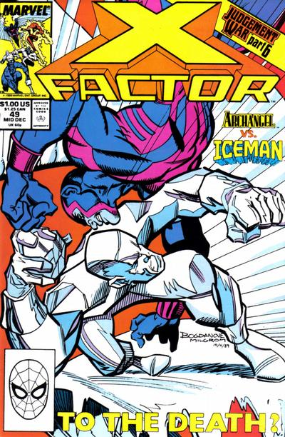 Cover for X-Factor (Marvel, 1986 series) #49 [Direct Edition]