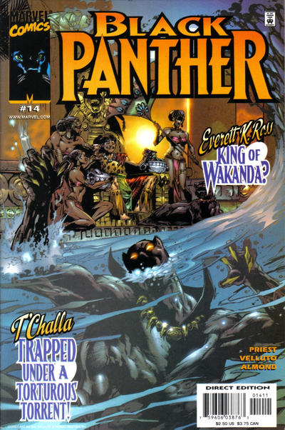 Cover for Black Panther (Marvel, 1998 series) #14