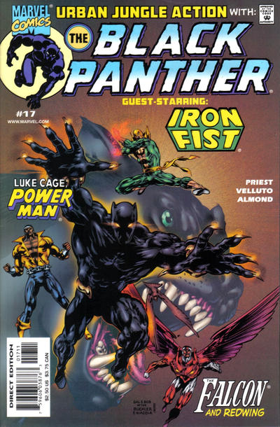 Cover for Black Panther (Marvel, 1998 series) #17