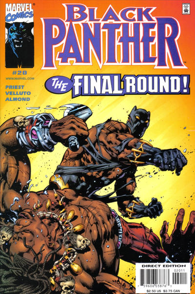 Cover for Black Panther (Marvel, 1998 series) #20