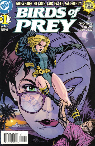 Cover for Birds of Prey (DC, 1999 series) #1