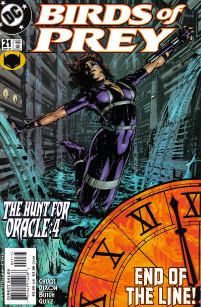 Cover for Birds of Prey (DC, 1999 series) #21
