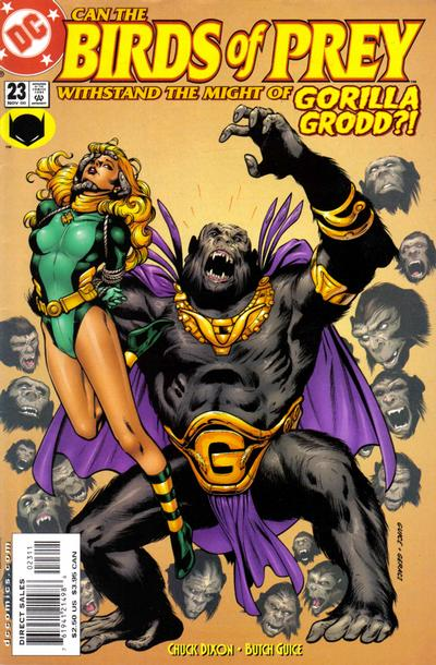 Cover for Birds of Prey (DC, 1999 series) #23