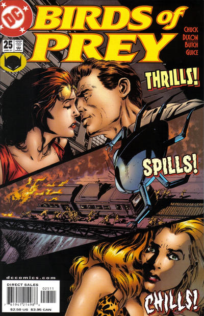Cover for Birds of Prey (DC, 1999 series) #25
