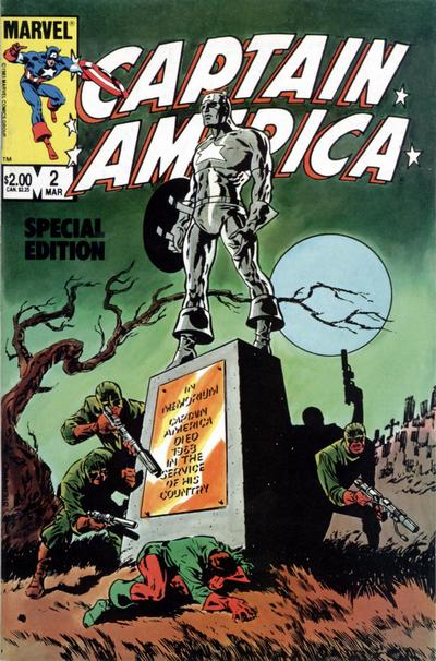 Cover for Captain America Special Edition (Marvel, 1984 series) #2