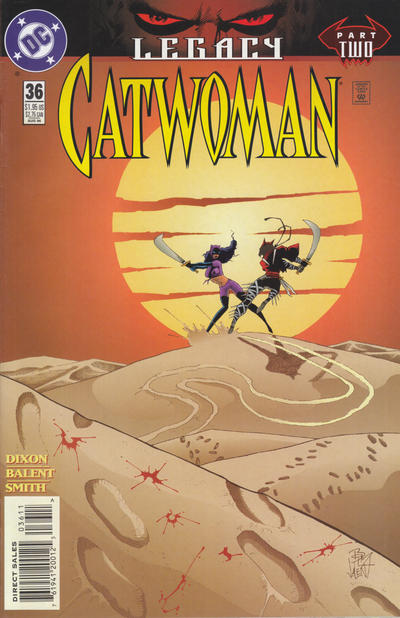 Cover for Catwoman (DC, 1993 series) #36
