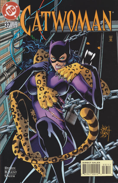 Cover for Catwoman (DC, 1993 series) #37