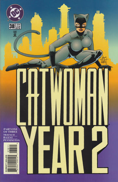 Cover for Catwoman (DC, 1993 series) #38