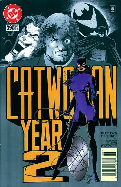 Cover for Catwoman (DC, 1993 series) #39 [Newsstand]