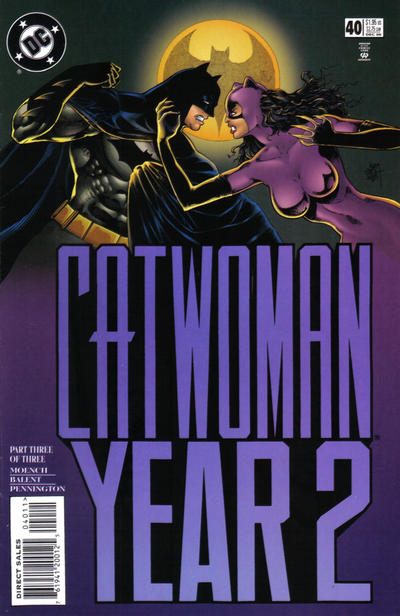 Cover for Catwoman (DC, 1993 series) #40