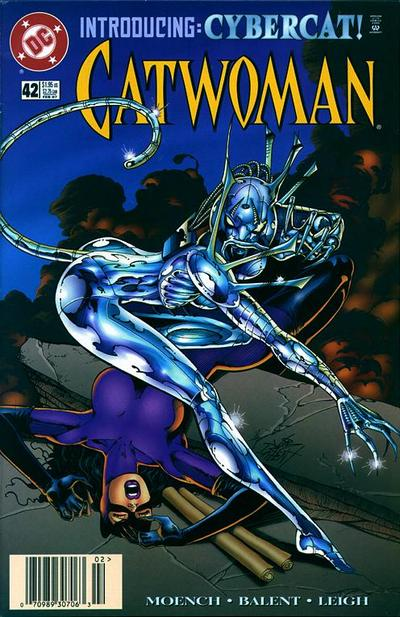 Cover for Catwoman (DC, 1993 series) #42 [Newsstand]
