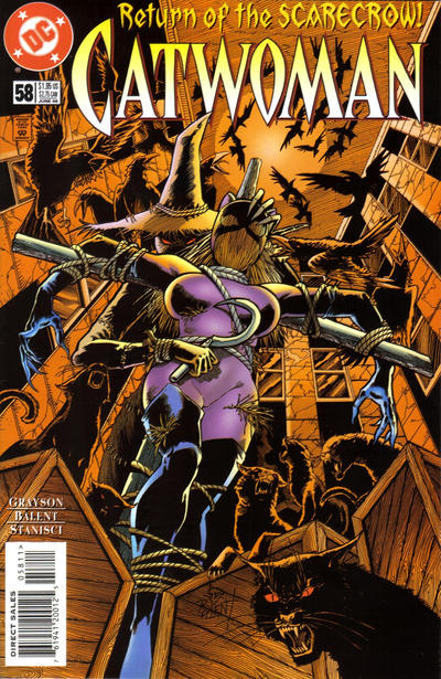 Cover for Catwoman (DC, 1993 series) #58