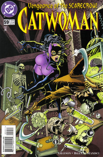 Cover for Catwoman (DC, 1993 series) #59